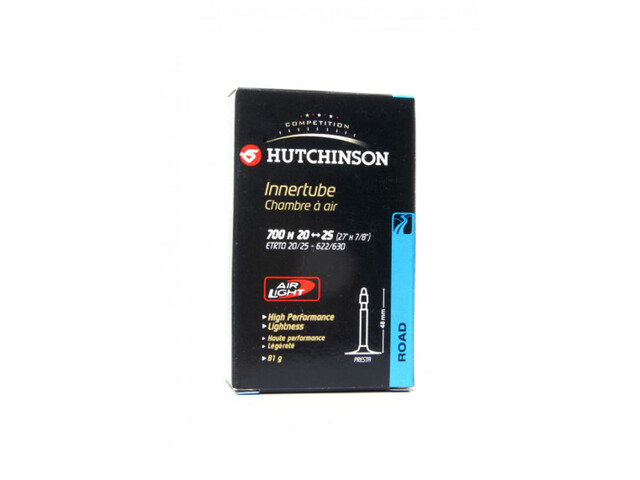 Hutchinson Air Light Cykelslange 700x20-25C sort (2019) | Tubes